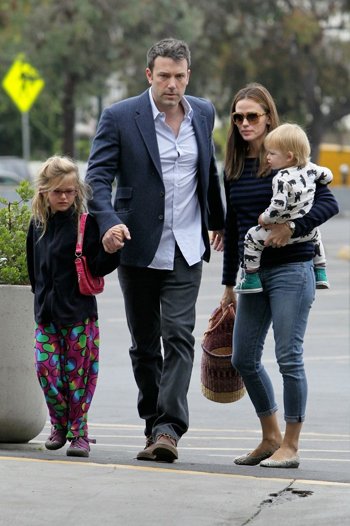 Ben Affleck i Jennifer Garner z dziećmi