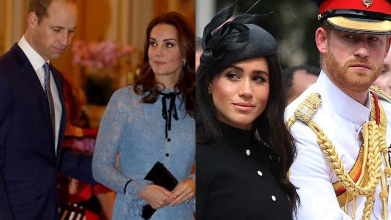 Meghan Markle, książę Harry, księżna Kate, książę William
