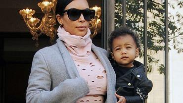 Kim Kardashian i North West
