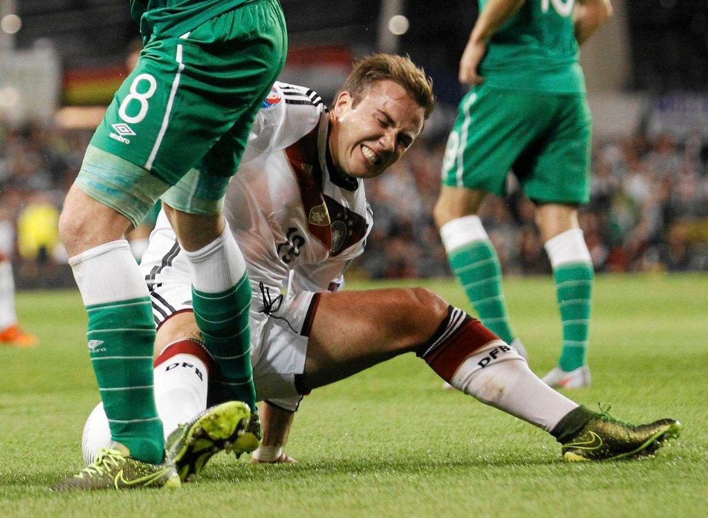 Irlandia - Niemcy 1:0 w el. Euro 2016