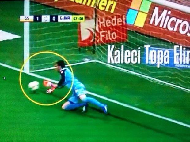 Dziwne zachowanie bramkarza w lidze tureckiej