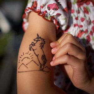 Tatuaż z henny, Łódź
