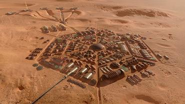 'Twardowsky' - polski projekt marsjańskiej wioski z II nagrodą w konkursie Mars Colony Prize