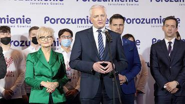 Kongres Porozumienia Jarosława Gowina w Warszawie, 27.06.2021 r.