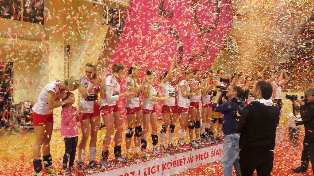 ŁKS Commercecon wygrywa mistrzostwo I ligi siatkarek w sezonie 015/2016