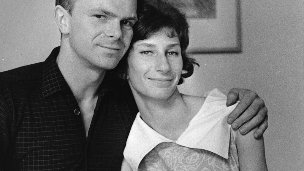Irena i Janusz Szewińscy w 1964 roku