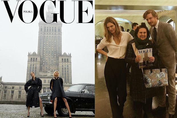 Okładka pierwszego polskiego Vogue wzbudziła skrajne emocje