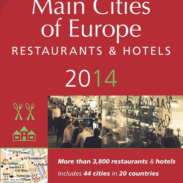 Okładka przewodnika Main Cities of Europe 2014