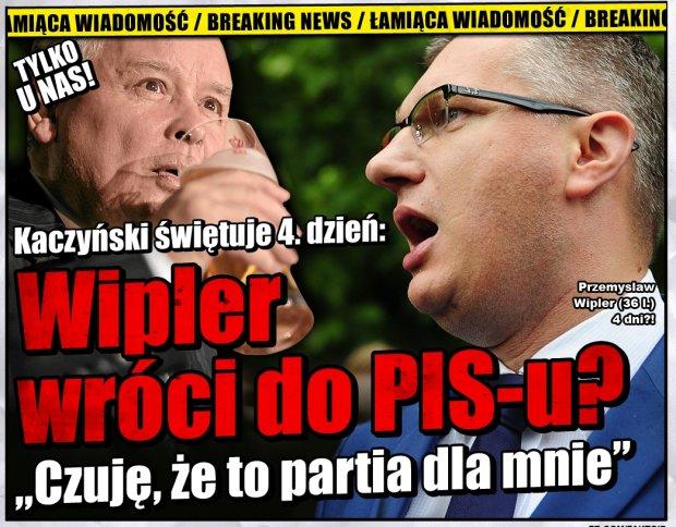 Faktoid: Kaczyński imprezuje, Wipler chce do PISu -  - Faktoid