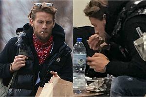 Sebastian Fabijański dba o sylwetkę i unika posilania się w restauracjach, ponieważ boi się, że coś mu może zaszkodzić - mówił niedawno jeden z jego znajomych. Czy jest tak w istocie? Zdjęcia, które zrobiono aktorowi w salonie bmw sugerują, że coś jest na rzeczy.