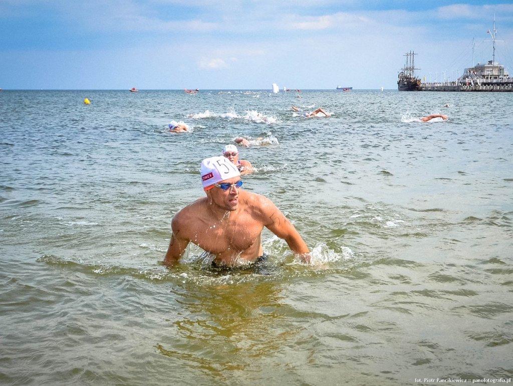 III wyścig pływacki dookoła molo Timex Cup 2014