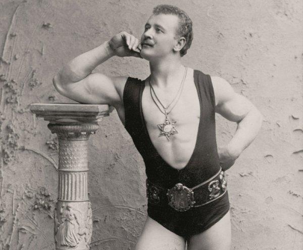 Eugen Sandow jako antyczny heros