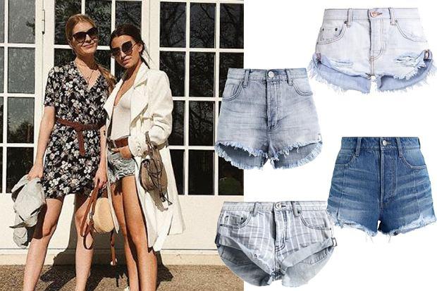 Kolaż, szorty jeansowe/Materiały partnera