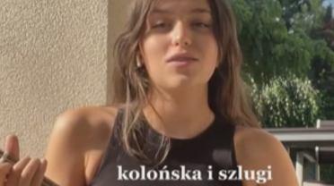 Fanka Sanah zagrała utwór 'Kolońska i szlugi' na ukulele