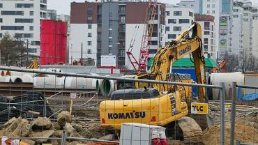 Z powodu znalezienia niewybuchu na budowie drugiej linii metra wstrzymano ruch tramwajów na Rembielińskiej