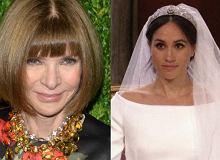 Anna Wintour oceniła suknię ślubną Meghan Markle. Zaskakująco pozytywnie!