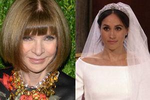 Anna Wintour oceniła suknię ślubną Meghan