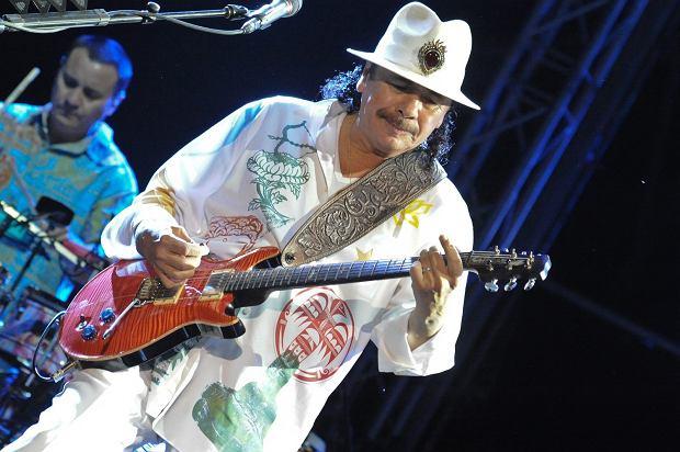 Carlos Santana w Dolinie Charlotty