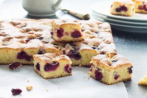 Ciasto z czereśniami - przepis na pyszne ciasto z owocami