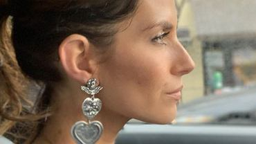 Weronika Rosati kupiła na aukcji kolczyk wielkiej gwiazdy Hollywood