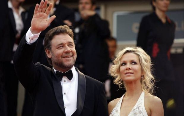 Russell Crowe i Danielle Spencer.