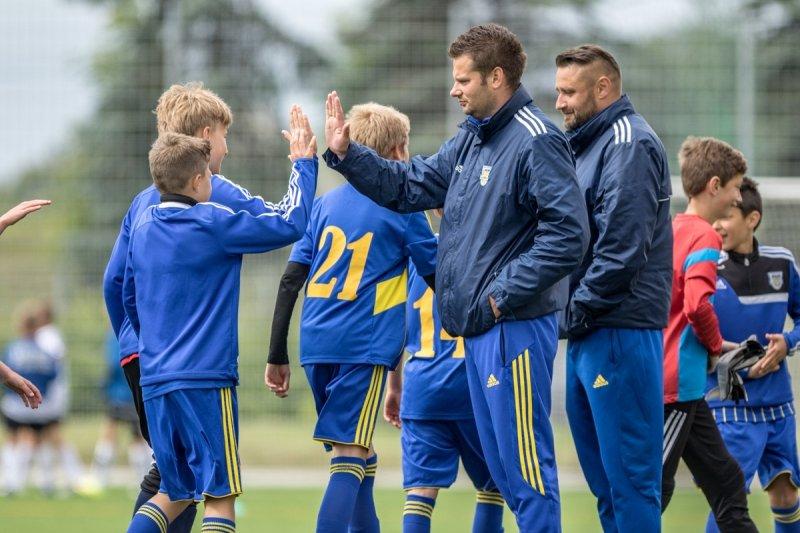 Młodzi arkowcy wygrali turniej Zagłębie Lubin Cup