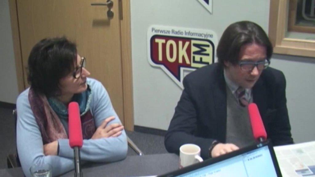 Jadwiga Sztabińska i Łukasz Lipiński w Poranku Radia TOK FM