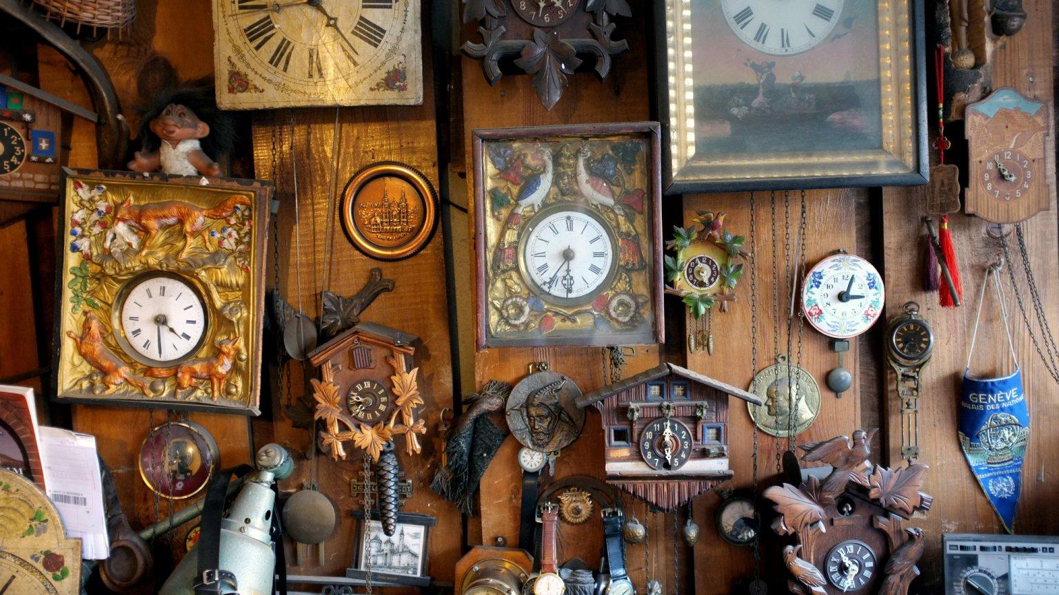 Pracownia zegarmistrza