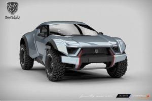 Zarooq Motors Sand Racer   Pustynna wyścigówka