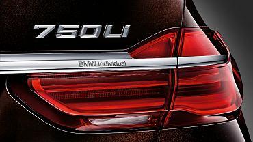 BMW serii 7 Individual
