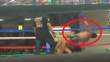 Morderczy nokaut w Tajlandii