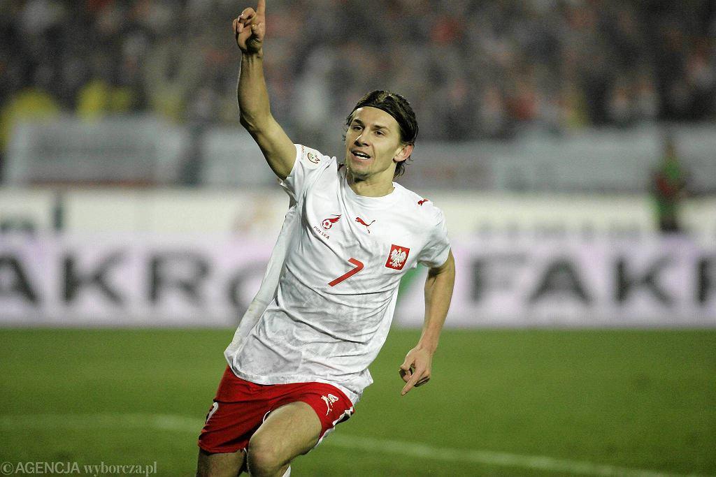 Euzebiusz Smolarek na Stadionie Śląskim