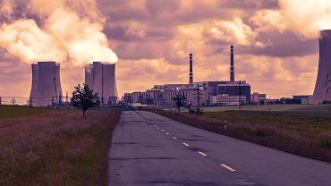 Centrale nucléaire de Dukovany, République tchèque.