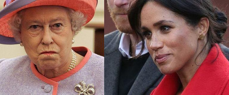 Królowa Elżbieta zareagowała na nieobecność Meghan Markle na pogrzebie