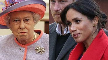 Królowa jest wściekła na Meghan i Harry'ego