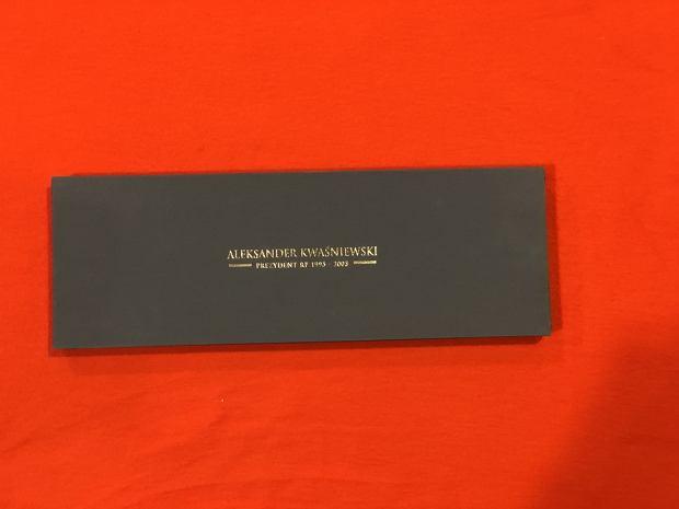 Krawat od Aleksandra Kwaśniewskiego