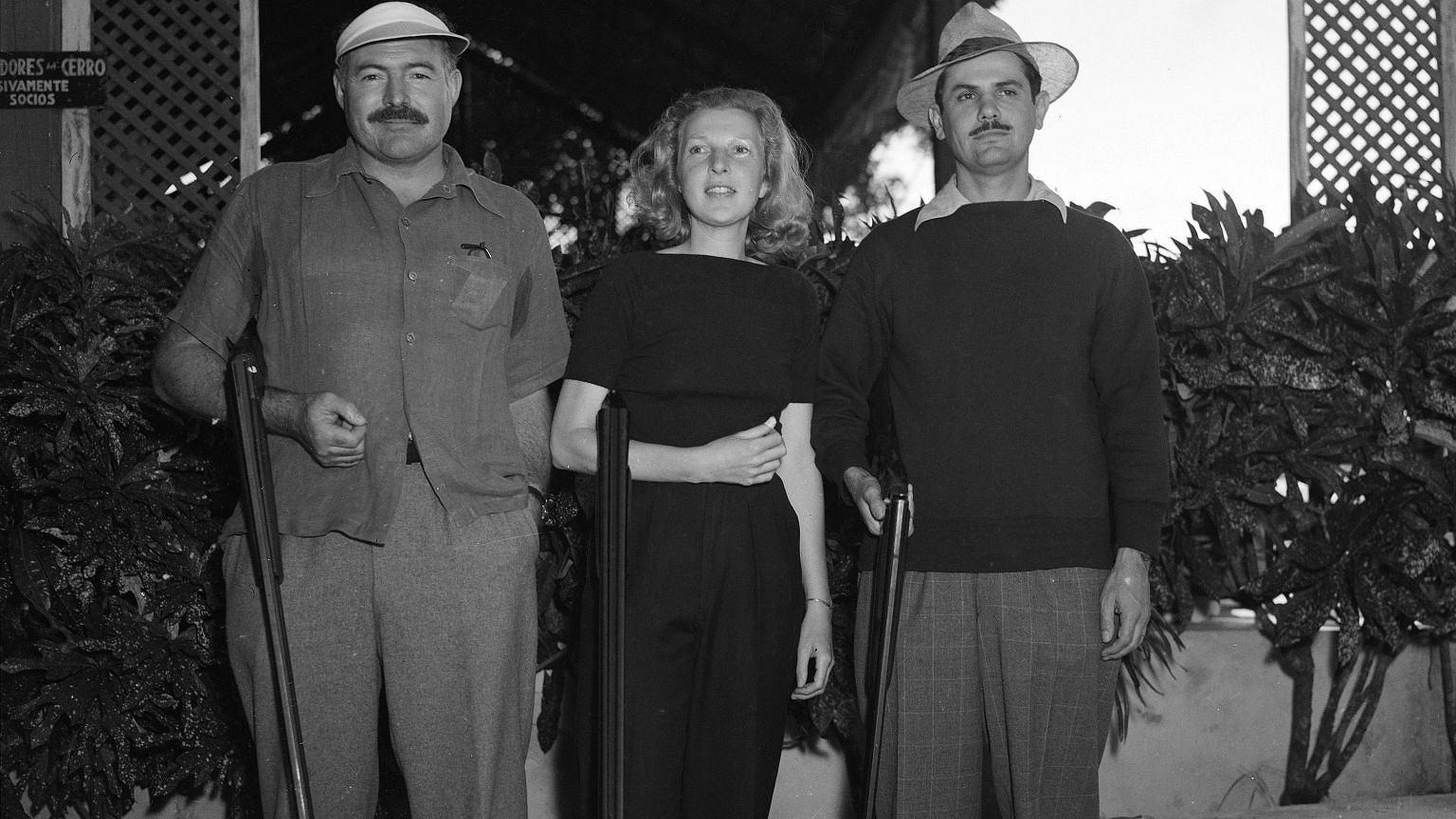 Ernest Hemingway, Martha Gellhorn oraz Elicio Arguelles