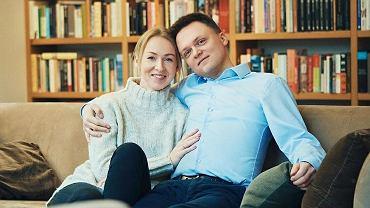 Urszula Brzezińska-Hołownia i Szymon Hołownia