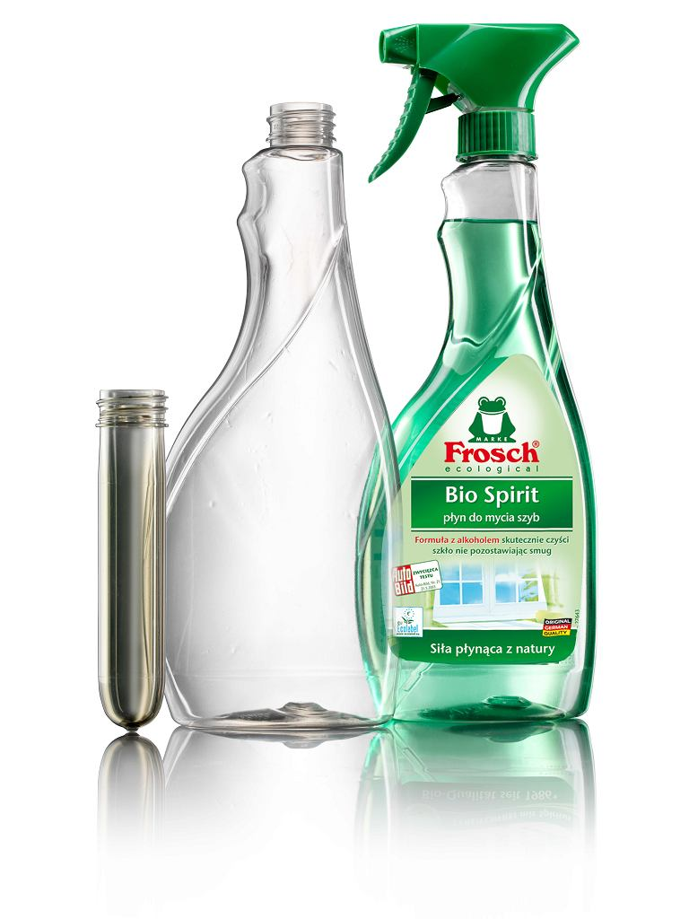 Butelka wykonana w 100% z recyklingu