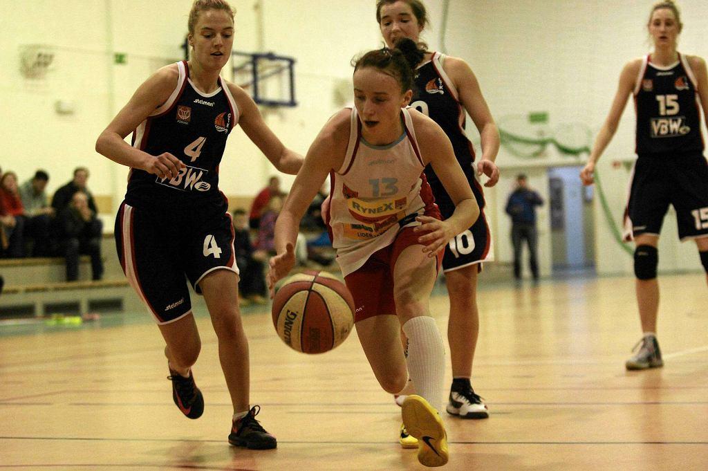 Koszykówka kobiet, I liga. Mon-Pol Płock - VBW GTK Gdynia 65:54