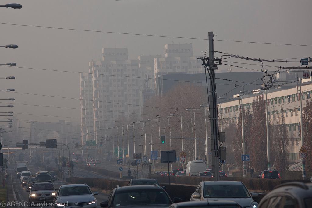 Smog we Wrocławiu - styczeń 2020