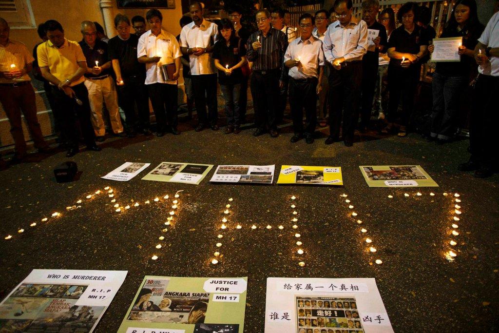 Mieszkańcy Kuala Lumpur upamiętniają ofiary katastrofy