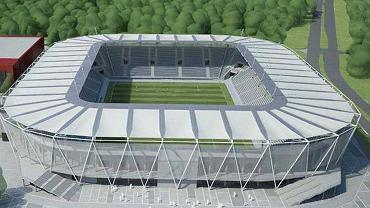 Tak ma wyglądać stadion ŁKS-u Łódź