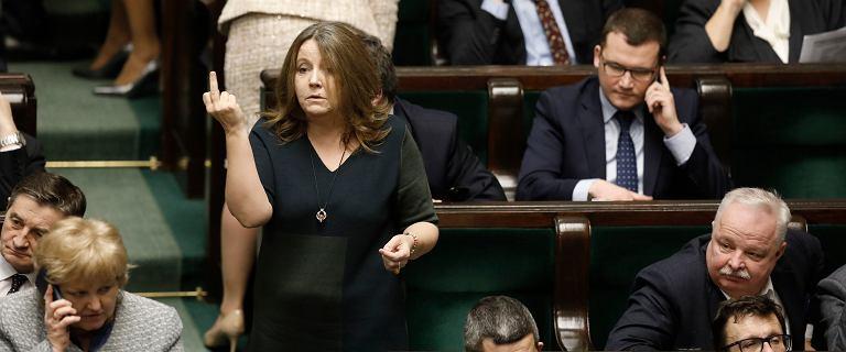 Wicemarszałek Sejmu zapowiedział złożenie wniosku o ukaranie Lichockiej