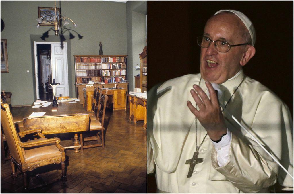 Papież Franciszek podczas Światowych Dni Młodzieży w Krakowie zatrzymał się w Pałacu Arcybiskupów Krakowskich przy ul. Franciszkańskiej 3. Tym samym, w którym niegdyś mieszkał Karol Wojtyła. To właśnie tu zatrzymywał się już jako Jan Paweł II, tu mieszkał także Benedykt XVI, gdy odwiedzał Kraków. Zobaczcie wnętrza Pałacu Arcybiskupów Krakowskich.