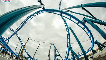 Budowa roller coastera Abyssus w Energylandii