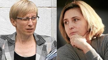 Senator PiS Beata Gosiewska i Dominika Wielowieyska