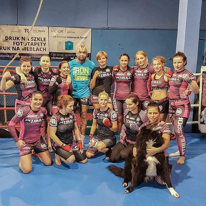 Obóz sparingowy Ladies Fight Night 'Piękna i Bestia'