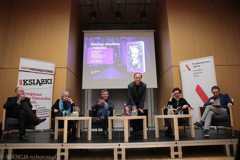 5.03.2020, debata 'Dlaczego odeszliśmy z Koscioła?'