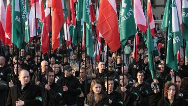 Marsz z okazji 83. rocznicy powstania ONR (kwiecień 2017)
